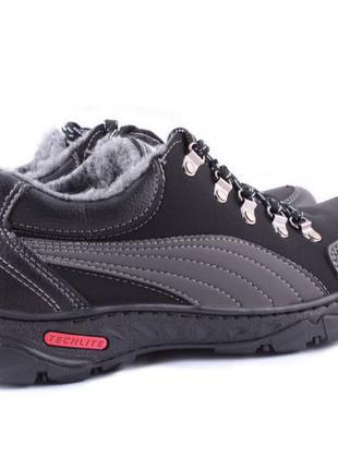 Зимние ботинки PUMA с мехом