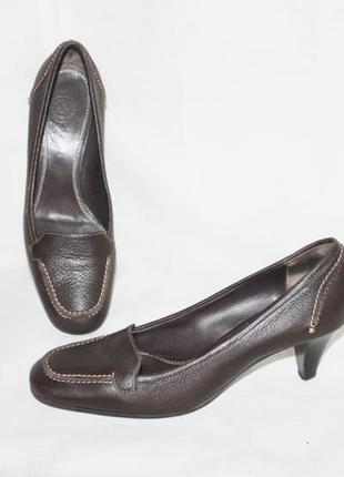 Комфортные туфли кожа bally, италия 36/37