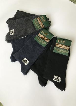 Мужские высокие житомирские украинские носки тёплые хлопковые ...