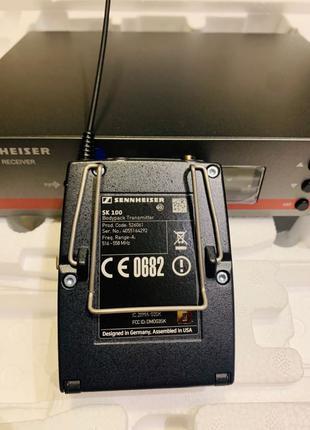 Инструментальная радио система микрофон Sennheiser ew100 g3 172