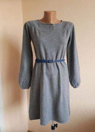 Gap Теплое платье шерсть сукня плаття вязанное трикотажное рукава