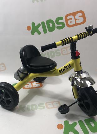 Велосипед трехколесный TILLY SPRINT T-323 ЖЕЛТЫЙ
