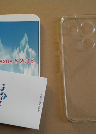Чохол силіконовий Aicek чехол для LG Nexus 5 2015