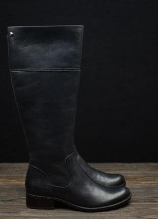 Женские кожаные стильные сапоги  caprice оригинал р-37,5