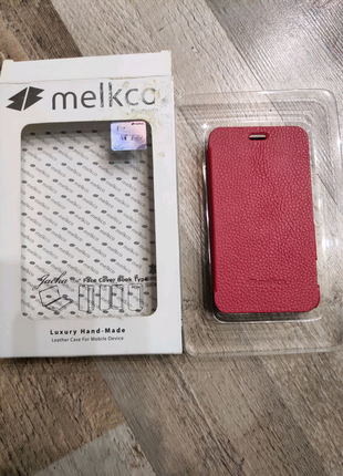 Чехол -книжка MELKCO Book Case Nokia 620-RED