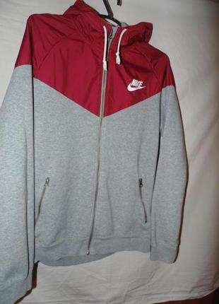 Куртка олимпийка достаточно плотная nike оригинал