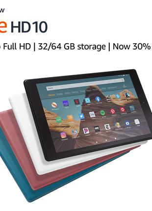 Планшет Amazon Fire HD10 • 9 поколение 32GB гарантия 12 мес
