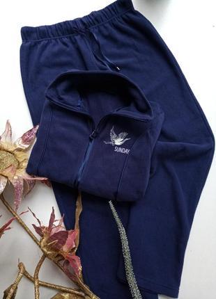 Флисовий костюм комплект для дома и отдиха от немецкого бренда...