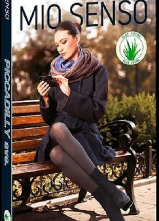 Женские тёплые колготки с эффектом велюра PICCADILLY 60