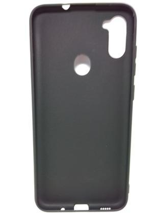 Задня накладка Samsung A11/A115/M11 Black