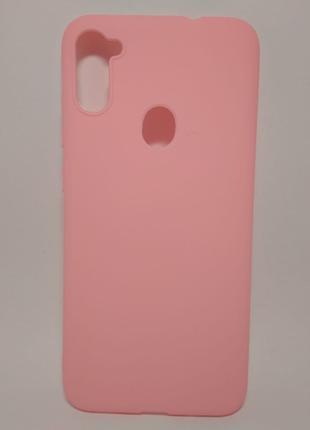 Задня накладка Samsung A11/A115/M11 Pink