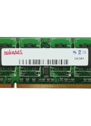 Оперативная память TakeMS 2Gb SO-DIMM DDR2 800MHz 2048MB PC2-6400