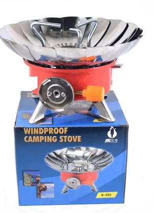 Газовая плита (горелка - примус) Kovar ZT-203 с пьезоподжигом