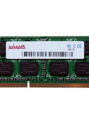 TakeMS 2Gb SO-DIMM DDR3 1333MHz 2048MB 2Rx8 (TMS2GS364D082-139)