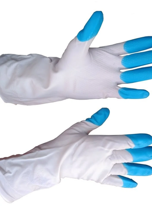 Перчатки резиновые Дельфин размер L