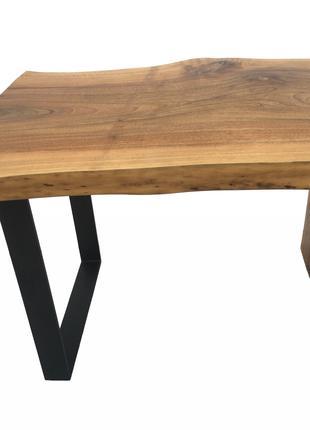 Журнальный стол из дерева. Loft. Live edge