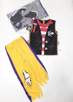 Пират костюм для мальчика р. 134-140, 158-164 и 5 предметов