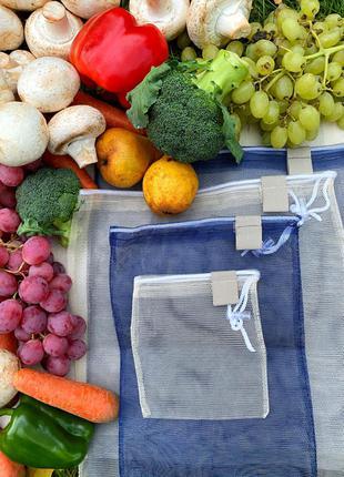 Мешочки для овощей и фруктов , а также орешков и круп