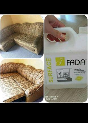 Миючий засіб для поверхонь Fada поверхня