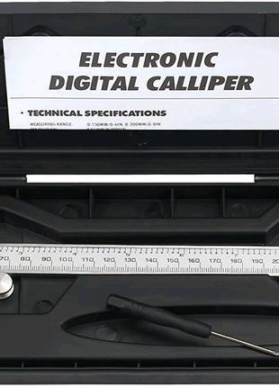 Штангельциркуль электронный цифровой 200 мм