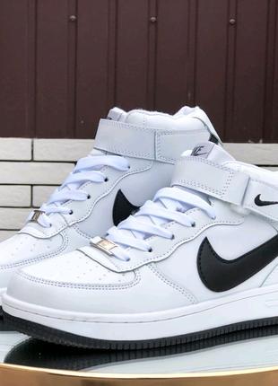 Кроссовки зимние Nike Air Force мех