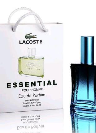 Lacoste Essential (Лакост Эссеншиал) в подарочной упаковке 50 мл