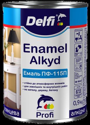 Эмаль алкидная ПФ-115 П Delfi 2,8кг