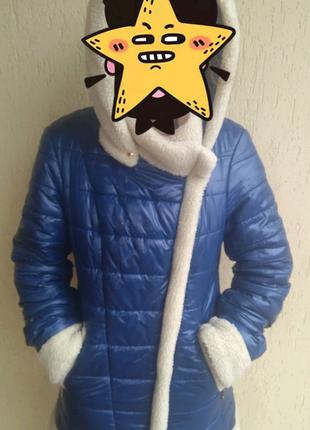 Продам пальто зимнее на подростка