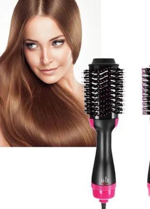 Фен - щётка для волос One Step Hair Dryer and Styler 3 в 1