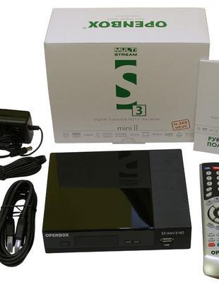 Спутниковый тюнер Openbox S3 Mini HD II (Multistream, H.265)