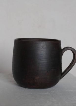 Керамическая чашка ручной работы (400 мл)