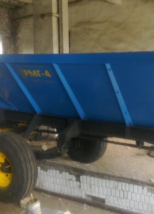 Разбрасыватель минеральных удобрений РУМ-4,РМГ-4,МВУ 6,МВУ 8
