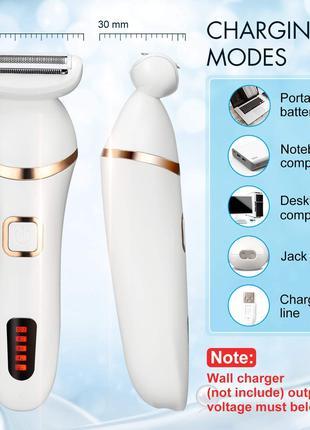 Електрична бритва ADOKEY для жінок, триммер для бікіні,