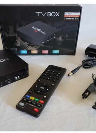 Смарт ТВ приставка Mxq Pro 4K