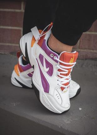 Женские разноцветные кроссовки nike m2k tekno