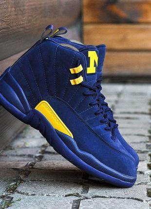 Nike air  jordan 12🆕 шикарные кроссовки найк 🆕 купить наложенн...
