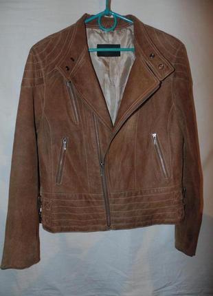 Куртка косуха замшевая нубук кожа натуральная giorgio