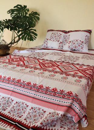 Комплект постельного белья вышиванка