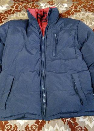 Зимняя куртка пуховик на мальчика М размер