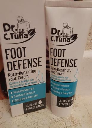 Крем для ног смягчающий от сухой кожи  farmasi др туна