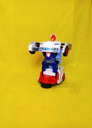 Трансформер робот Поліцейська машина