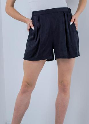 Mbym черные шорты-кюлоты на резинке, свободные легкие шорты с ...
