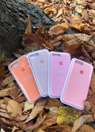 Silicone case для IPhone 7/8+