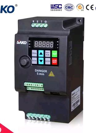 Инвертор частотный преобразователь частотник invertor 4 квт