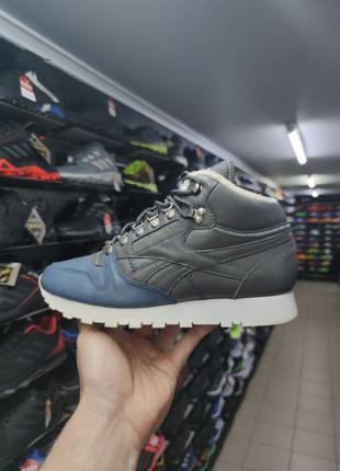 Оригинальные утепленые кроссовки Reebok Classic Leather Sherpa...