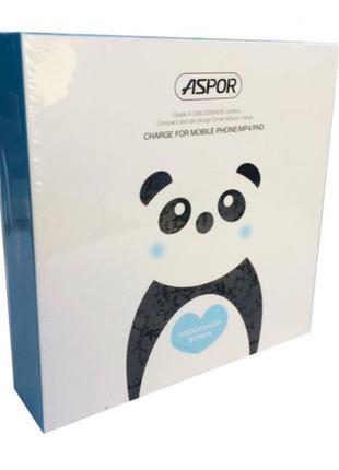 УМБ внешний аккумулятор Powerbank Aspor A358 2USB/1A/2.4A IQ 1000