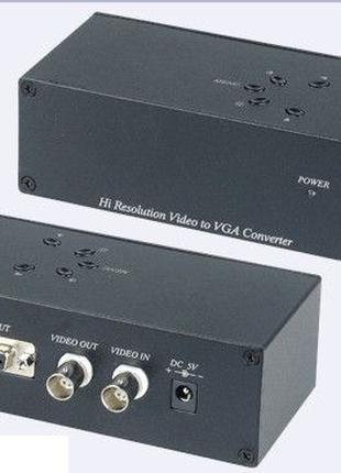 AD001HN конвертер аналогового видеосигнала в VGA-сигнал