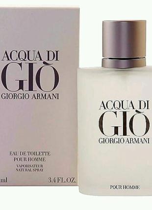 Giorgio Armani Acqua di Gio Pour Homme 100 ml. Туалетная вода