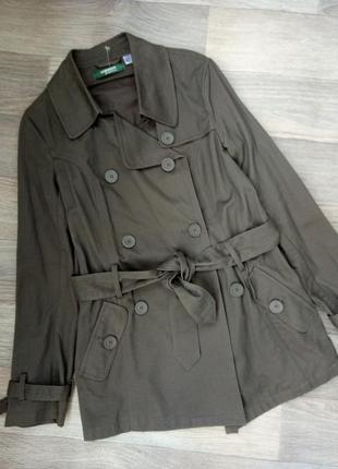 Пальто куртка ветровка плащ тренч тренчкот с пояском