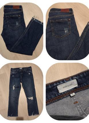 Брендовые брюки джинсы river island